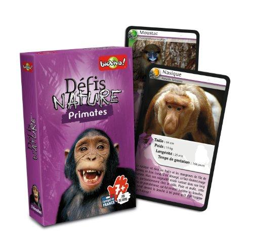 Bioviva - 0101001109 - Jeu de Société - Défis Nature - Primates