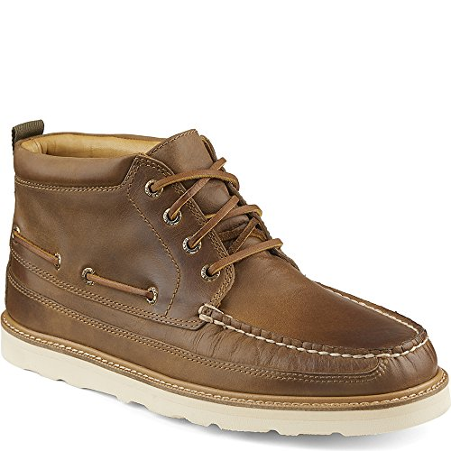 Sperry Top-Sider Homme Or Moc Chukka Hi Leather Boots, Marron Marron