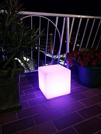 CUBO 40 Cm. a LED cambio colore