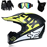 Casque de Moto Cross Country Certification D. O. T Endurance VTT VTT Casque de...