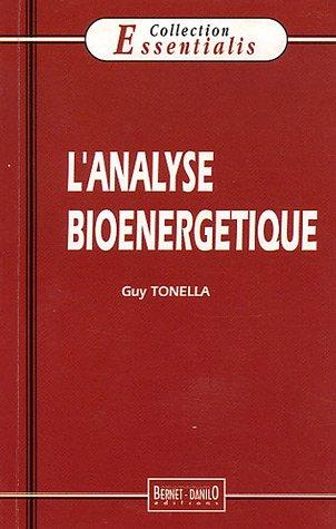 L'analyse bioénergétique