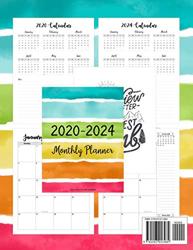 Zoom IMG-1 2020 2024 5 year planner
