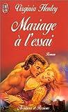 Mariage a l'essai