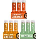 Kiva Weight Management Combo Lemon Honey Cinnamon, Apple Cider Vinegar & Triphala Juice 18 Shots (40 Ml Per Shot)