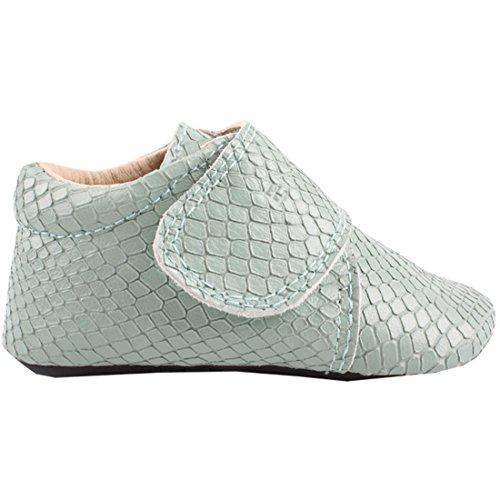 enfant-unisex-baby-und-kinder-slipper-100-leder-mintgrn-gr-19-velcro-slipper-mint-815138-13