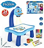 #8: 3 in 1 Kids Painting Drawing Activity kit Projector Table (Frozen Princess)
