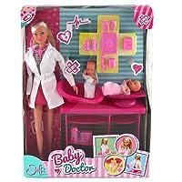 Simba 105732608 - Steffi Love Puppe als Baby Doctor