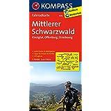 Mittlerer Schwarzwald - Kinzigtal - Offenburg - Strasbourg: Fahrradkarte. GPS-genau. 1:70000 (KOMPASS-Fahrradkarten Deutschland, Band 3108)