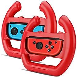 Tnp Nintendo interruttore per ruota joy-con controller (set da 2)–Racing Steering Wheel controller di impugnatura kit attacchi