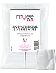 Mylee Lint Free Wipes Pack of 200 Prep Clean Wipe NEW