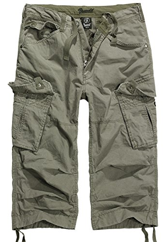 Brandit Columbia Mountain 3/4 Shorts, Gr. XL, oliv