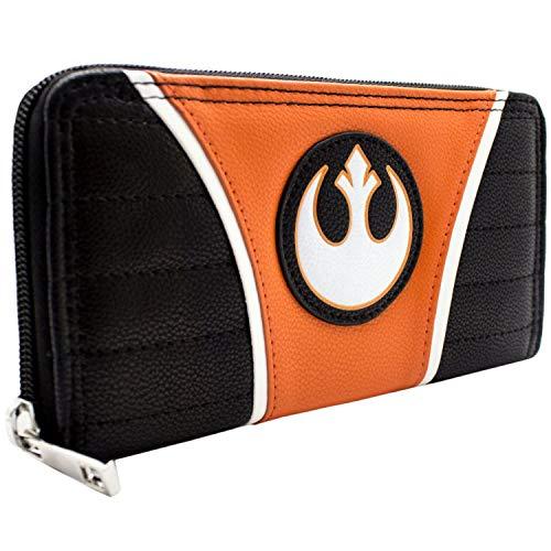 The Empire Strikes Back Star Wars Rebel Alliance Portemonnaie Geldbörse Orange