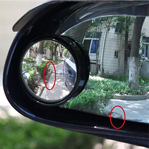 sen auto macchie cieche per specchietti retrovisori retrovisori lenti ausiliarie grandangolari nero