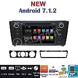 Iuspirit Autoradio navigateur GPS Android 7.1, DVD, USB, SD, Bluetooth BMW serie 1 / BMW E81 / BMW E82 / BMW E88