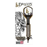 ONE80 Soft-Dartpfeile Dragon Softip 20g - Dardo de plástico ( 20 g ), color plateado
