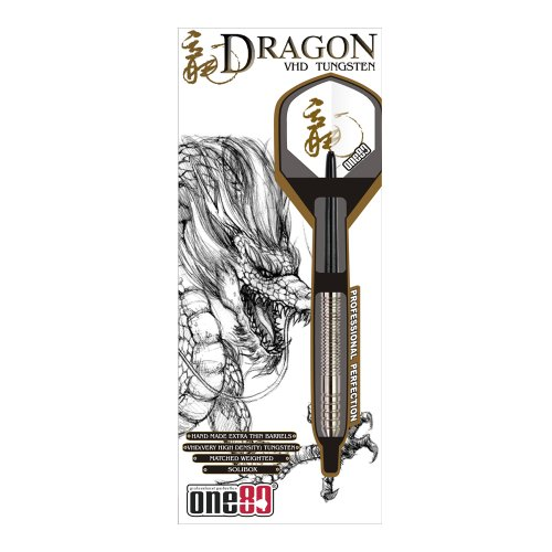 ONE80 Soft-Dartpfeile Dragon Softip 20g, silber, 6043