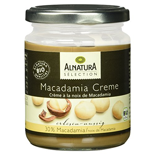 Alnatura Bio Sélection Macadamiacreme, 1er Pack (1 x 225 g)