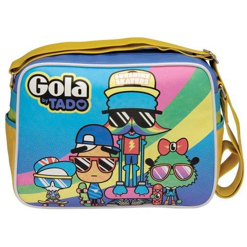 Gola Redford Tado - Retro Messenger Bag - Dudes W36 x H27cm x D11.5