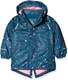 NAME IT Baby - Mädchen Jacke NMFSNOW03 AOP Jacket FO, Mehrfarbig Legion Blue, 98