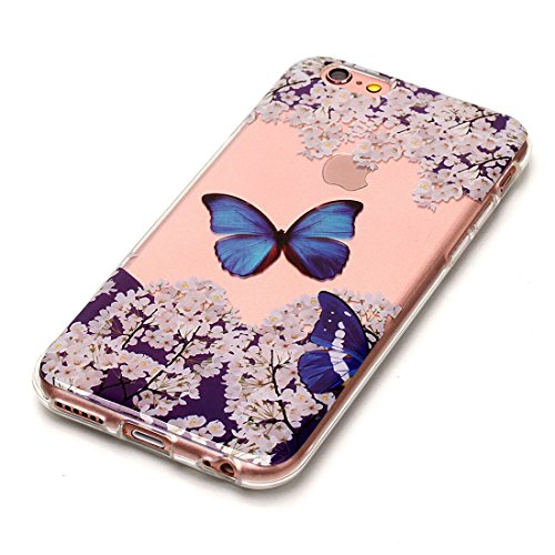 Yaking® Apple iPhone 6 Plus/6S Plus Coque Silicone TPU Case Cover Gel Étui Housse pour Apple iPhone 6 Plus/6S Plus 6-F