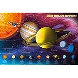 GB eye Solar System Maxi Poster, Multi-Colour