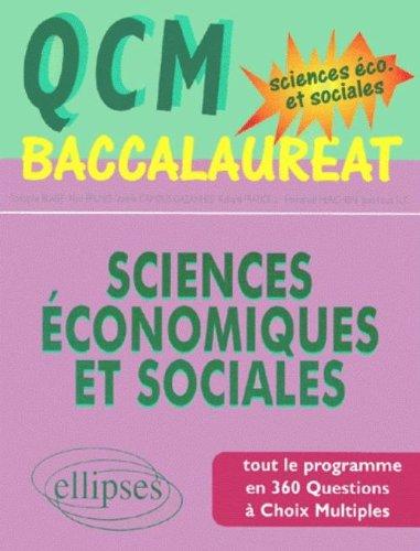 QCM baccalauréat sciences économiques et sociales