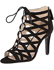 Nine Authority Ouest Suede Dress Sandal