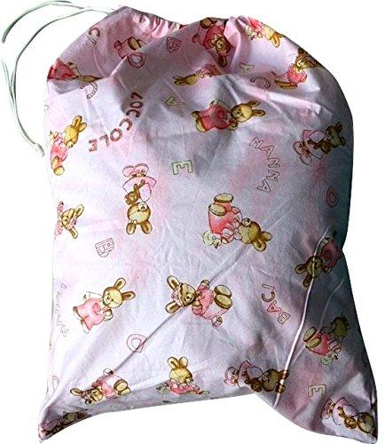 Preisvergleich Produktbild Tasche ASYL Hase Kuscheltier pink Mädchen 46x 60cm-Kleidung und Schaltung Kind