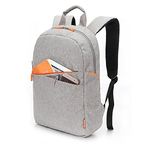 Kingslong zaino leggero, 20 litri classico zainetto pieghevole impermeabile di base per lo sport e viaggiare, borsa elementare libro di scuola con due tasche laterali della (grigio)