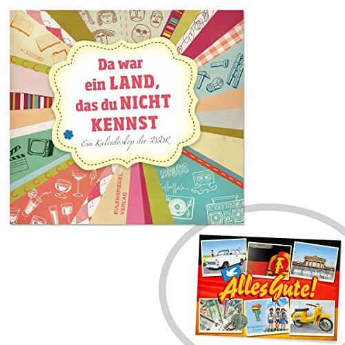 Da war ein Land, das du nicht KENNST | INKL DDR Geschenkkarte | Ostalgie | Ideal für jedes DDR Geschenkset | Ostprodukte