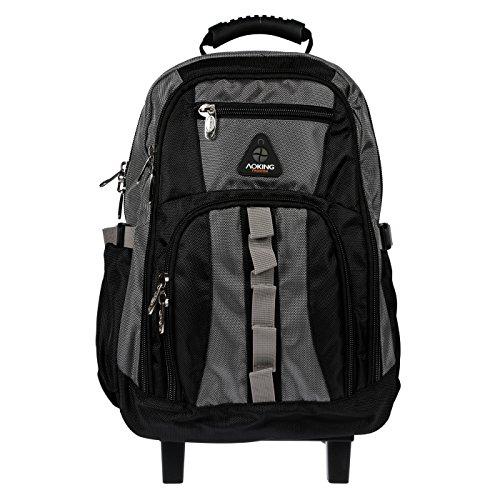 Imagen de  escolar con ruedas, varios colores, negro y gris gris  ak510 alternativa
