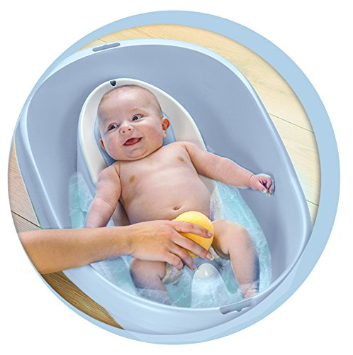 Lot baignoire et transat de bain bébé fabriqué en France