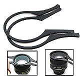 #10: Generic Camera Lens Filter Wrench Kit Set for 62mm / 67mm / 72mm / 77mm Filter Lens(Black)