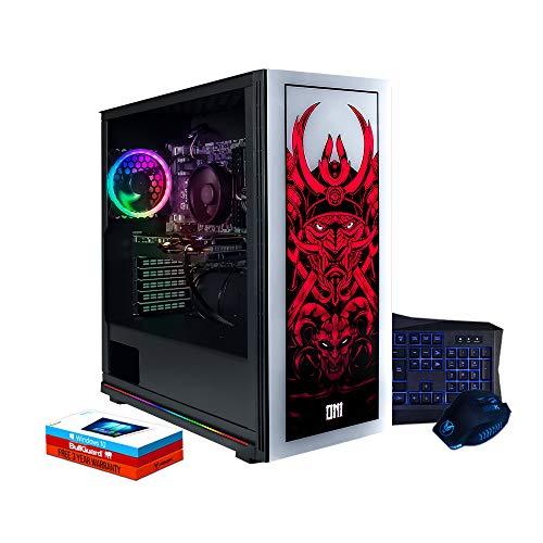 Fierce Lumina RGB Gaming PC Bundeln - Schnell 4.2GHz Hex-Core AMD Ryzen 5 2600X, 960GB SSD, 16GB 3000MHz, NVIDIA GeForce GTX 1660 Ti 6GB, Windows 10 installiert, Tastatur (QWERTZ), Maus 1137747