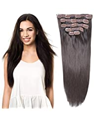 Amazon beauty fly limited hair extensions hair 20 clip hair extensions human hair clip in extensions pmusecretfo Gallery