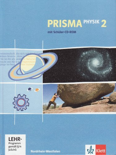Prisma Physik - Ausgabe für Nordrhein-Westfalen. Schülerbuch 7./8. Schuljahr