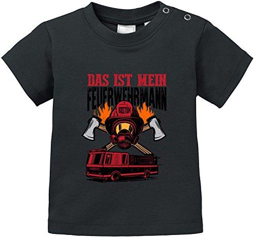 EZYshirt Das ist Mein Feuerwehrmann Kostüm Bio Baumwolle -