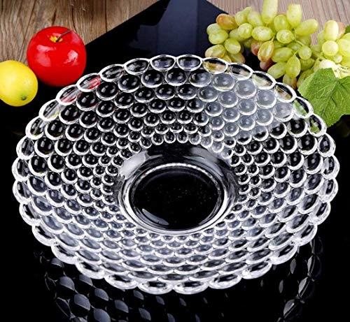 WOO Obstschalen Anzug Glas Deko Geschenk Obstteller Obstaufbewahrung Obsthalter Obstschale Obstregale Obstschalen