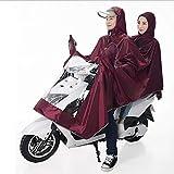 GOPANI Bike Raincoats for Men/Women Waterproof with Two Person Hooded Raincoat
