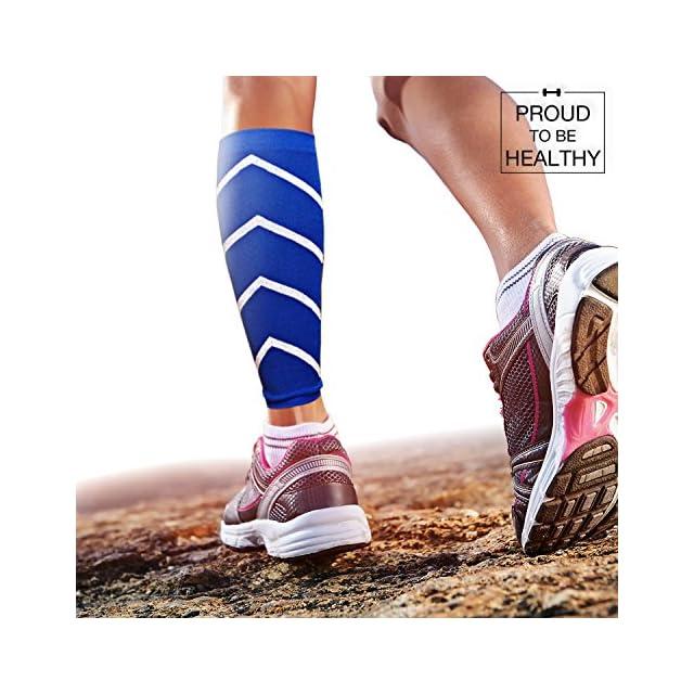 Manchon de Compression  Bandage de mollets, Favorise la performance,  l endurance ... 356f274360ef
