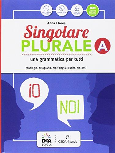 Singolare plurale. Per la Scuola media. Con e-book. Con espansione online. Con Libro: Grammatica facile. Con DVD-ROM: A-B-C