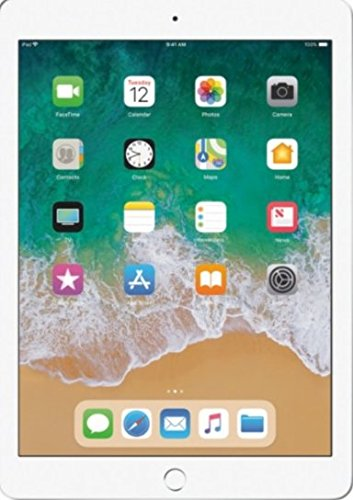 Price comparison product image Apple iPad with WiFi - 128GB - Silver (2017 Model)