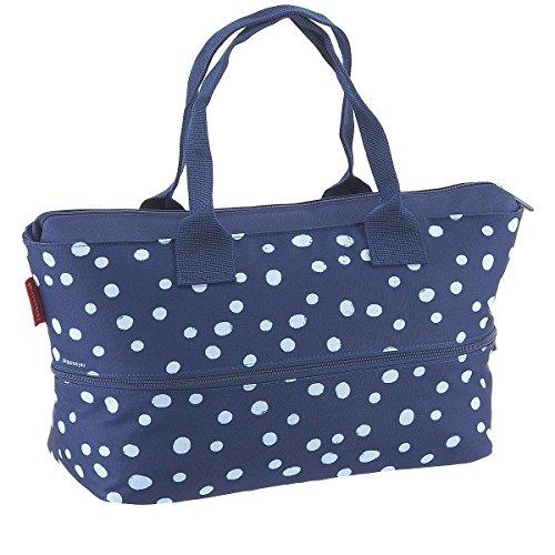 Produktbild Reisenthel Shopper e1 Spots Navy Einkaufstasche,  Polyester,  26.5x50x16.5 cm