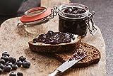 FRUCHTAUFSTRICH Heidelbeere Low Carb, ohne zugesetzen Zucker, mit Xylit