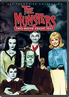The Munsters: Two-Movie Fright Fest - (Franchise Collection) - (Munster, Go Home! & The Munsters' Revenge) by Fred Gwynne
