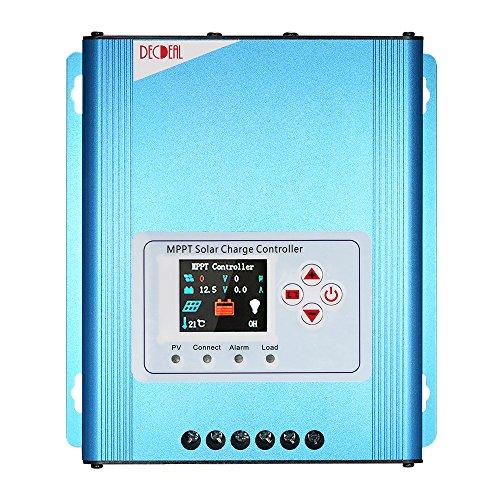 Decdeal MPPT Solar Laderegler Solar Panel Regler 12V / 24V / 48V Auto-Identifikation