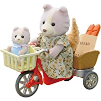 Sylvanian 4281 Families Cycling With Mother