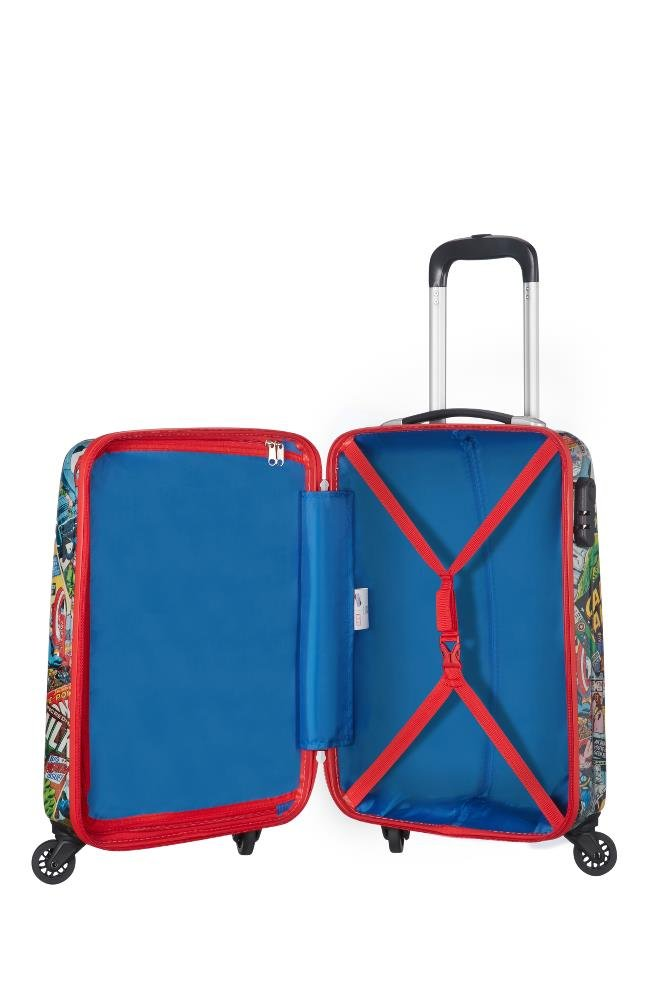 515JuFUz1eL - American tourister - Disney Star Wars Legends - Spinner 75/28 Joytwist Hand Luggage, 75 cm, 88 Liters, Multicolour (Star Neon)