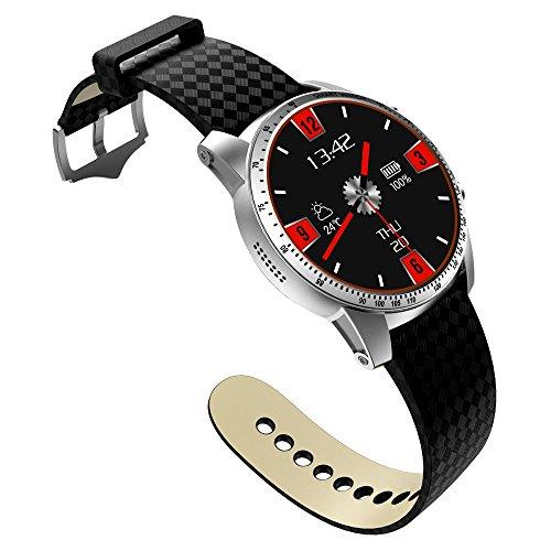 Yaal Smart Watch Android 5.1 Système D'exploitation Intelligent Health Tracker De Fréquence Cardiaque, GPS, Bluetooth, WiFi 3G Smart Watch De Carte SIM,B