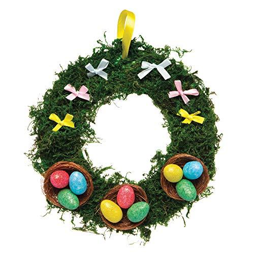 Baker Ross Mini Uova Glitterate (Confezione da 50) – Decorazioni Creative per Pasqua - 2